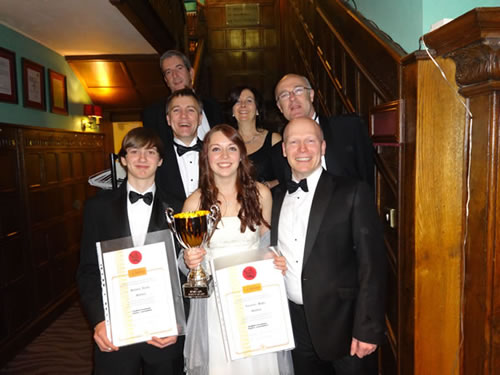 Knebworth awards at the ESKA ball 2013