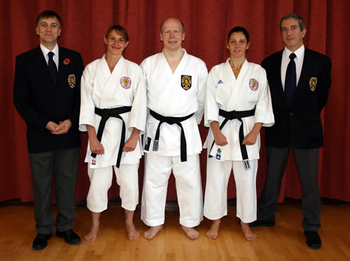 Dan gradings November 2012