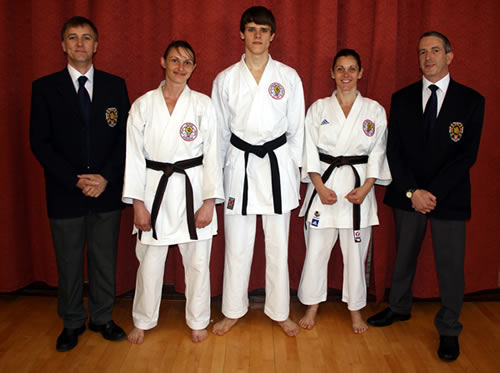 Dan gradings May 2012