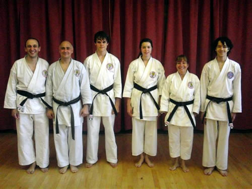 Intermediate Black belts November 2011
