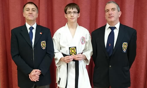 Ben awarded black belt