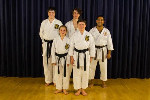 Knebworth karate ESKA Dan grades