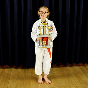 Club news Student of the year karate award