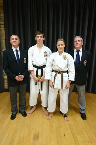 New Nidan and New Intermediate Black Belt