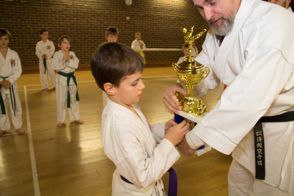 Knebworth Karate Student of the Year 2017