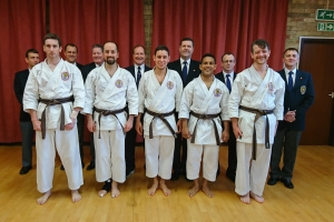 Knebworth karate ESKA Intermediate Dan 2017