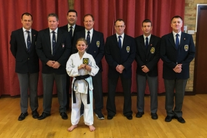 Knebworth karate ESKA Junior Dans 2017